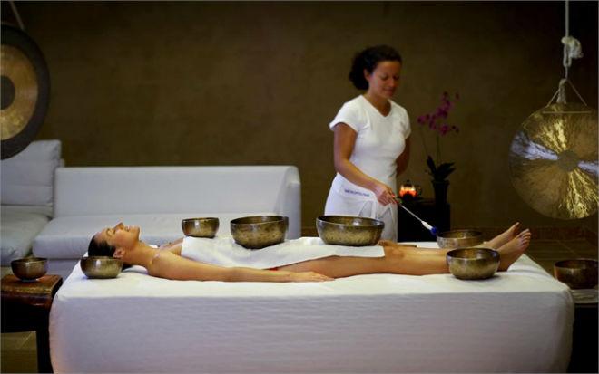 massaggio tibetano per spa di lusso
