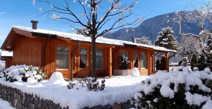 gressoney campeggio inverno