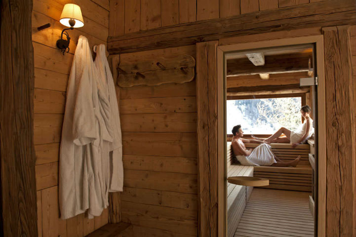 sauna cogne