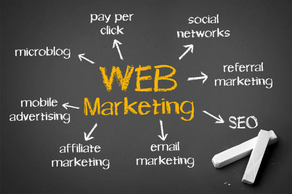 web marketing spa hotel lusso