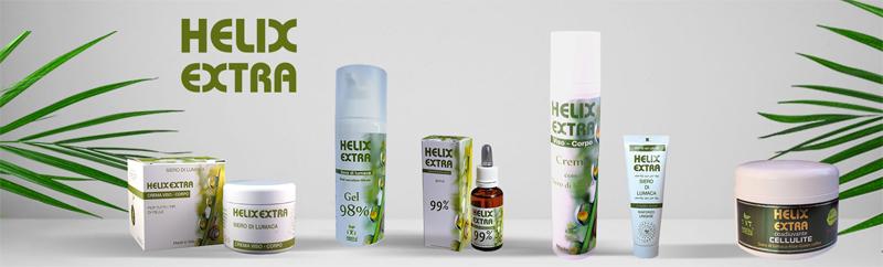 helix extra prodotti bava lumaca