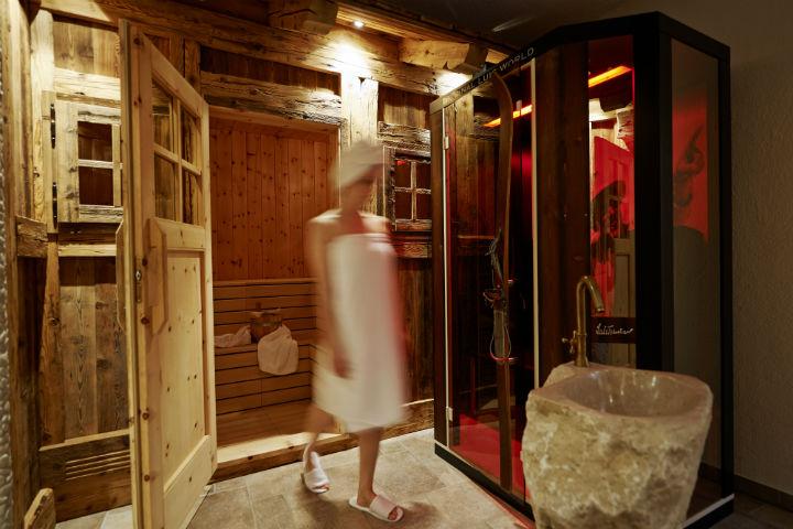 sauna hotel alto adige