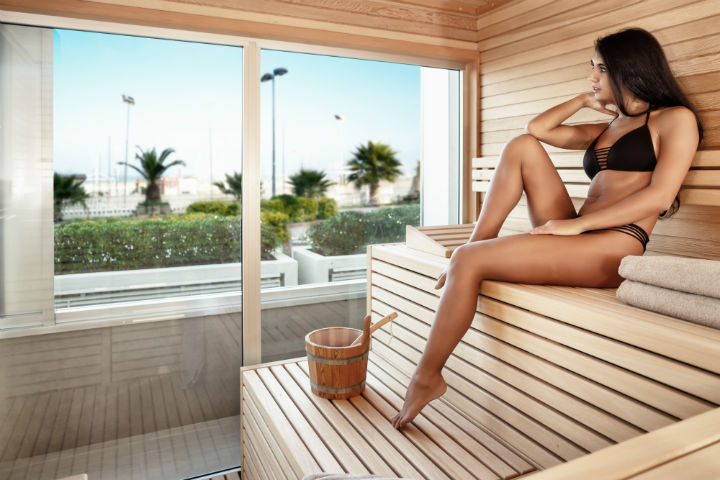 sauna day spa rimini